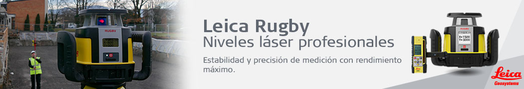 niveles leica rugby