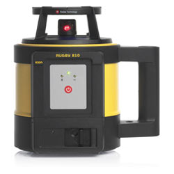 Nivel laser rotativo Leica Rugby 810, RE140.